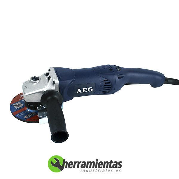 238HEWSE14125 – Pulidora AEG WSE 14-125 + Maletín plástico