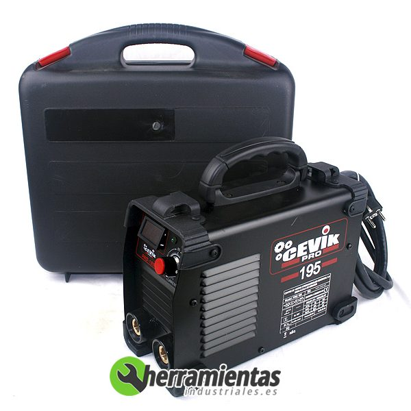 240CE-PRO195 – Soldadura Inverter Pro-195 Cevik