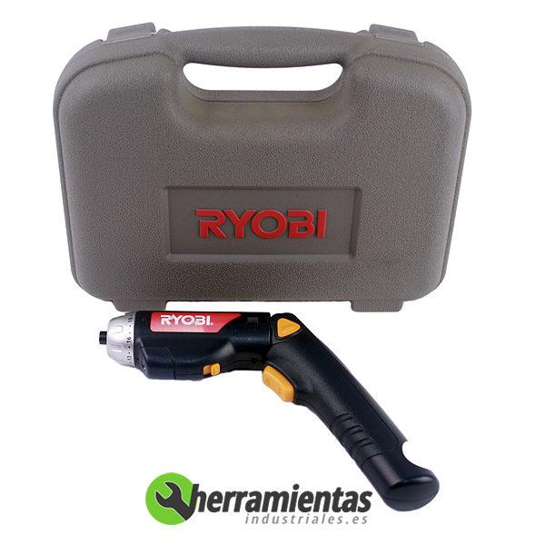 498HE-BD336 – Atornillador Ryobi BD 336 + Maletín plástico