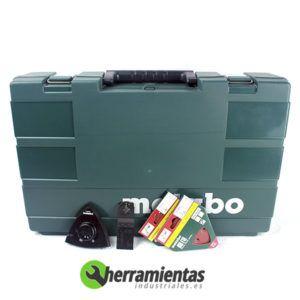 068HE68508100(2) – Kit Metabo 2.6.1 BS 18 + MT 18 LTX + Maletín plástico