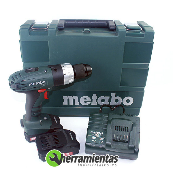 068HE60219051 – Taladro combinado Metabo SB 18 Li + Maletín plástico