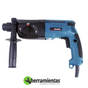082HEHR2450X9 - Taladro Martillo Makita HR2450X9 + Maletin metalico