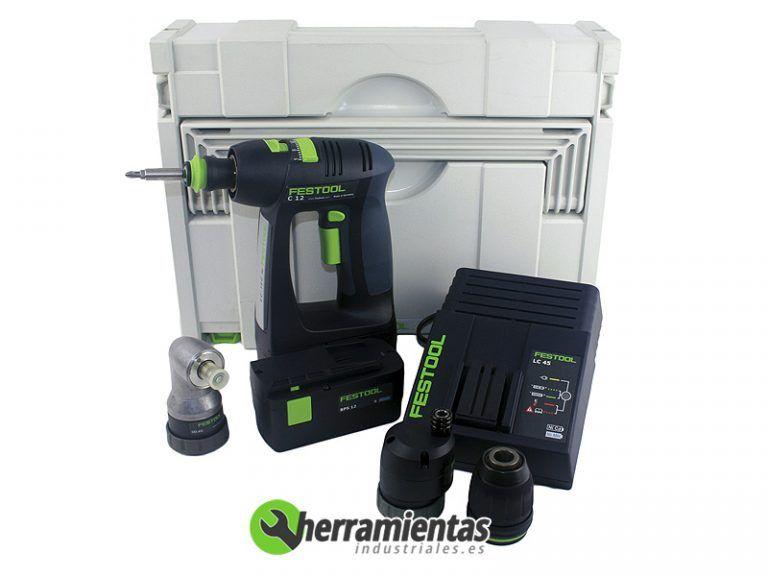 813TTS564167 – Taladro atornillador Festool C12 CE-MH45-Set