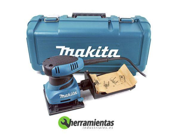 082HEBO4556K – Lijadora Orbital Makita 4556K + Maletín plástico