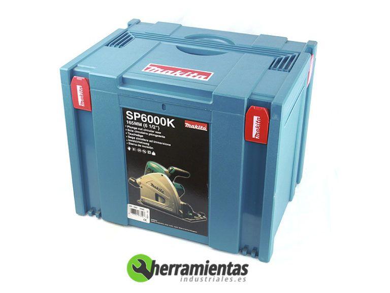082HESP6000K(2) – Sierra circular Makita SP6000K + Maletín plástico