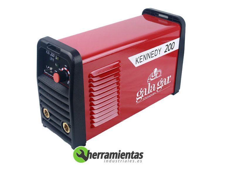 0572229K200M – Soldadura Inverter Galagar Kennedy 200 C-ACC. + Maletín metal
