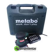 068HE60006650 – Lijadora orbital Metabo FSR 200 Intec + Maletín plástico