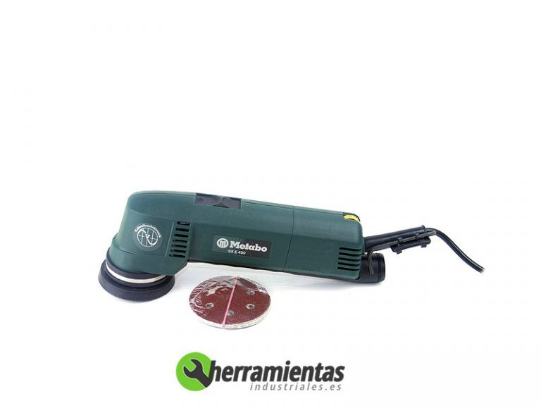068HE60040500 – Lijadora excentrica Metabo SXE 400