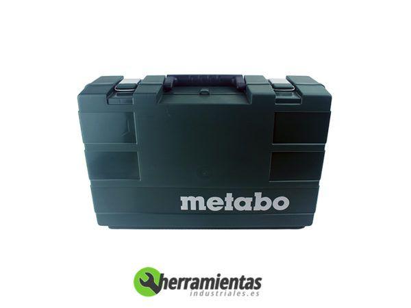 068HE62003551(2) – Miniamoladora Metabo WQ 1000 + Maletín plástico + 2 Discos diamante