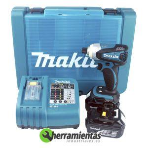 082HEBTD144RFE – Atornillador impacto Makita BTD144RFE + maletín plástico