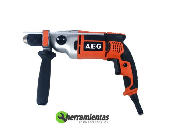 238HESB222E – Taladro percutor AEG SB22 2E + Maletín plástico