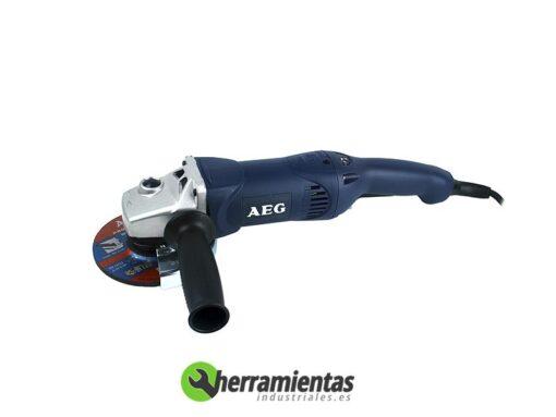 Amoladora AEG WSE 14-125 + Maletín plástico