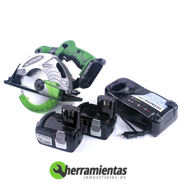 387599010185 – Sierra circular Hitachi C18DL + Maletín plástico
