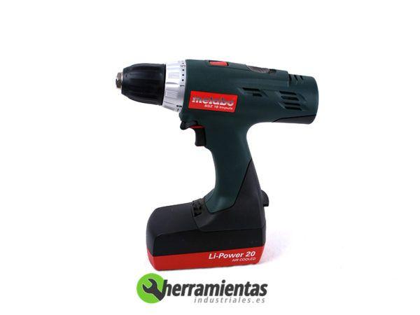 068HE60216651 – Taladro Metabo BSZ 18 Impuls + 2 Baterías 2,2Ah + Maletín plástico