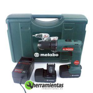 068HE60227551 – Taladro Metabo BS 15.6 Plus + Maletín plástico