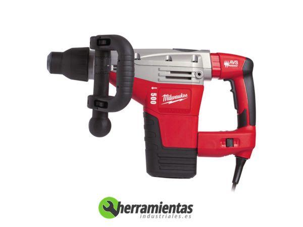 238HEK500S – Martillo combinado Milwaukee K 500 S + Maletín plástico