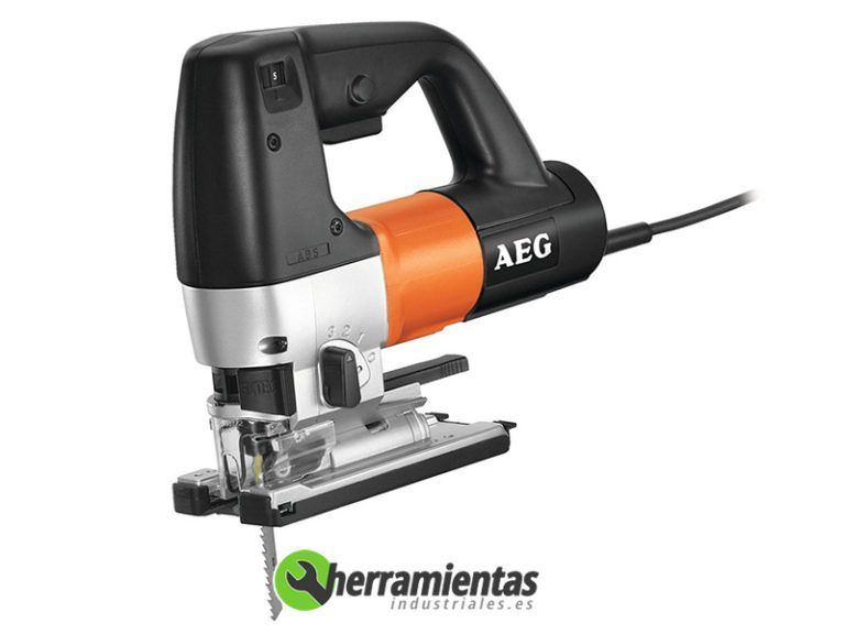 238HESTEP1200BX – Sierra de calar AEG STEP 1200 BX + Maletín plástico