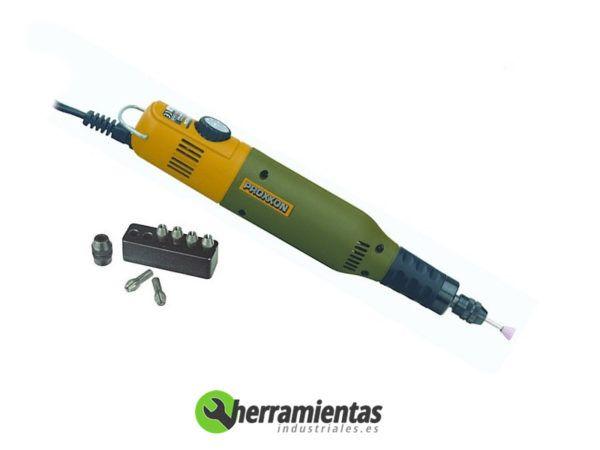 417HM2228510 – Taladro Proxxon Micromot 50-E + Maletín plástico