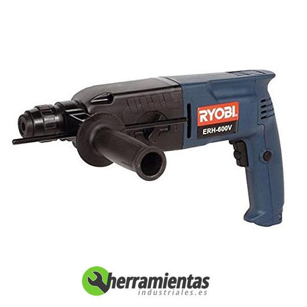 498HE-ERH600VA – Taladro Ryobi ERH 600V + Maletín plastico