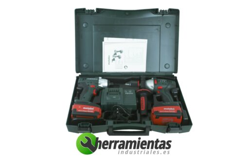 Twin Pack 2 Metabo SB 18 ltx + SSD 18 LT + Maletin