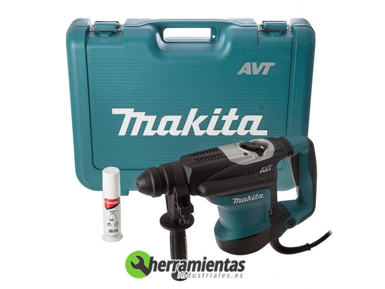 082HEHR3210FCT – Martillo combinado Makita HR 3210FCT + Maletín plástico
