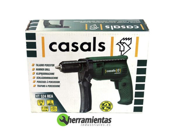 121HEVR524REA – Taladro percutor Casals VT 524 REA