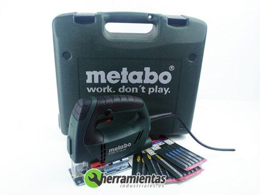 068HE60104050 – Sierra de calar STEB 70 Quick + Maletín plástico