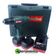 068HE6021535 – Taladro Metabo BSZ 12 1.4 + Maletín plástico