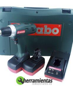 068HE60216551 – Atornillador Metab BSZ 14.4 (2 baterias) + Cargador AC30 + Maletín plástico