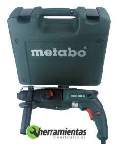 068HE60615400 – Martillo Metabo KHE 2444 + Maletín de plástico