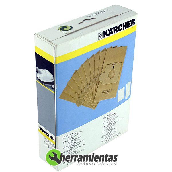 079RK6905225 – 10 bolsas de papel + 2 higienicos Karcher