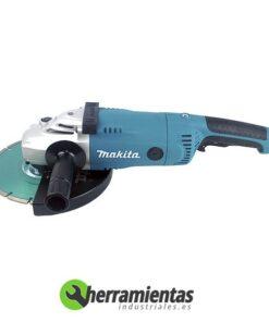 Amoladora angular Makita GA 9020 RKD + Maletín plástico