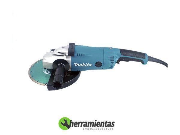 082GA9020RKD – Amoladora angular Makita GA 9020 RKD + Maletín plástico