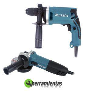 082HEDK1154 – Kit DK1154 Makita GA4530+HP1631 + Maletín plástico