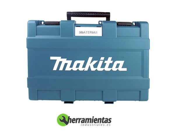 082BHP448RFE3(2) – Taladro percutor Makita BHP448RFE3 + Maletín plástico