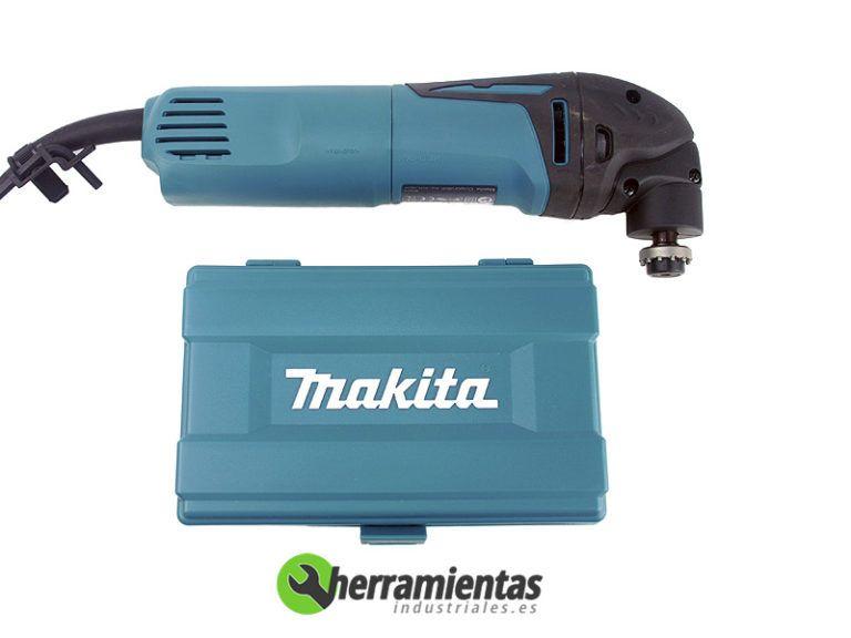 082HETM3000CX1 – Multiherramientas Makita TM3000CX1 + Maletín plástico