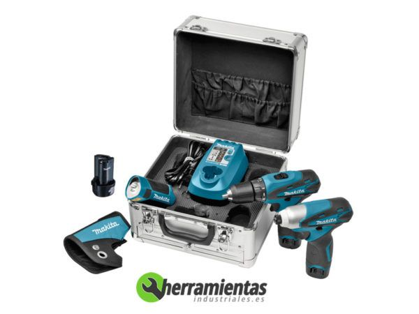082LCT303X1 – Kit Makita LCT303X1 + Maletín metal (DF330+TD090)