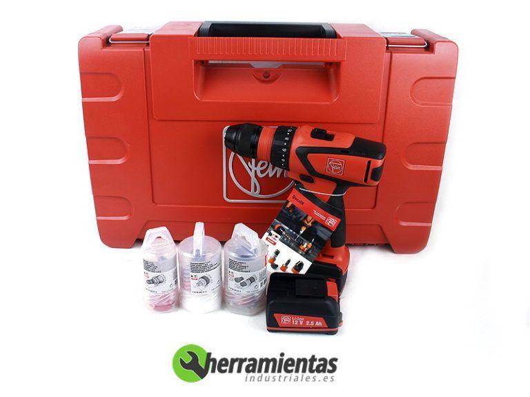 84771161062000 – Taladro atornillador Fein ASCM 12 QC + Maletín plástico