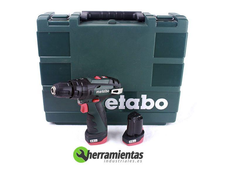 068HE60038550 – Taladro atornillador Metabo Power Max SB + Maletín plástico