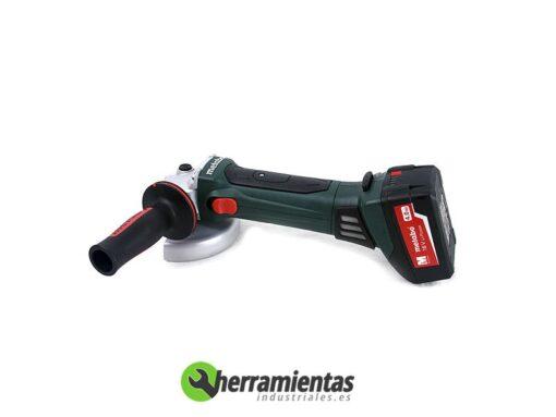 Amoladora Metabo W 18 LTX 125 Quick