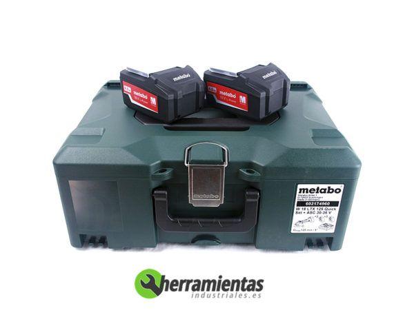 068HE60217461(2) – Amoladora Metabo W 18 LTX 125 Quick