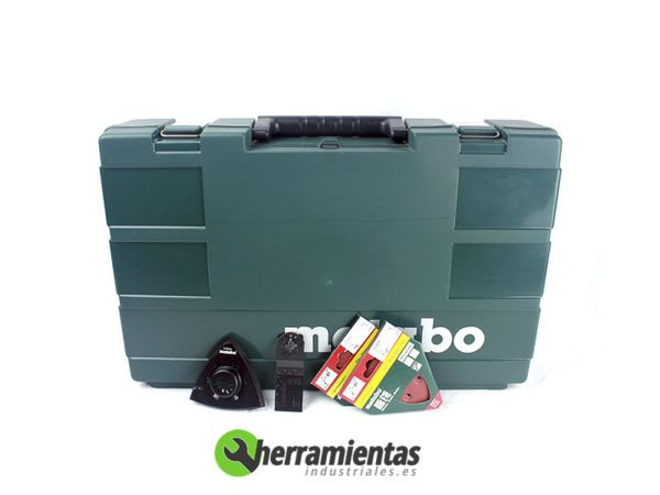 068HE68508100(2) – Kit Metabo 2.6.1 BS 18 + MT 18 LTX + Maletín plástico