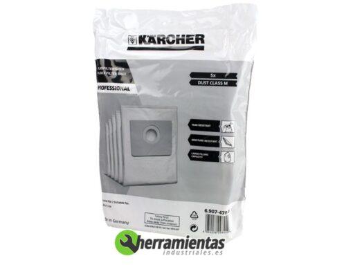 079RK6907478 – Set Bolsa filtrante Karcher 6.907-478 (5Ud)