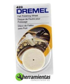 9841610108020 – Disco de pulir fieltro Dremel (429)