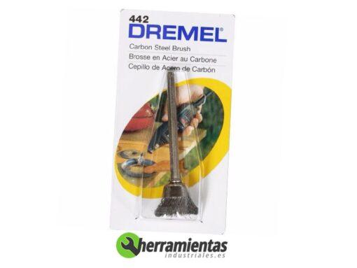 9842615044232 – Cepillo de acero al carbono Dremel (442)