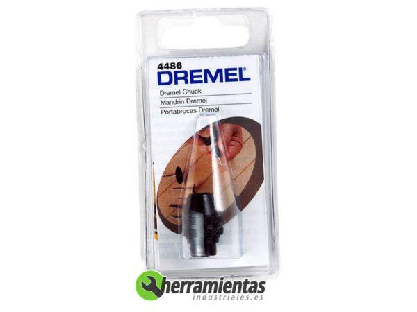 9842615448632 – Portabrocas de cierre rápido Dremel (4486)