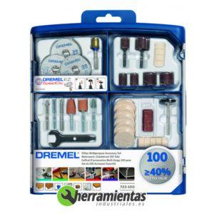 9842615S723JA – Juego 100 Accesorios Dremel