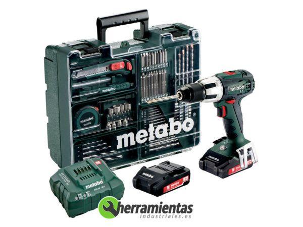 068HE60210360 – Taladro Percusion Metabo SB 18 LT SET
