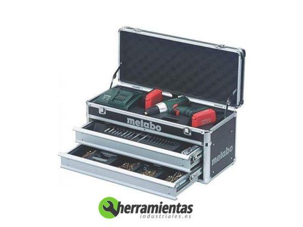 068HE60213787 – Atornillador Metabo BS 14.4 LT + Maletín con accesorios