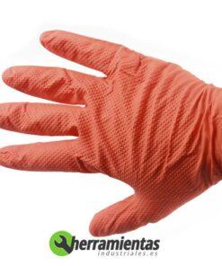 1051GL2003 – Guantes de nitrilo dimantados Auto Tecnik 90-100 guantes